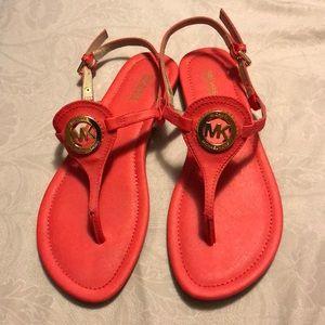 Coral Michael Kors sandals